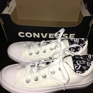 New Converse Women CTAS Madison OX White